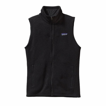 Patagonia Womens Better Sweater Fleece Vest Black (Close Out)