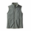 Patagonia Womens Better Sweater Fleece Vest Hemlock Green
