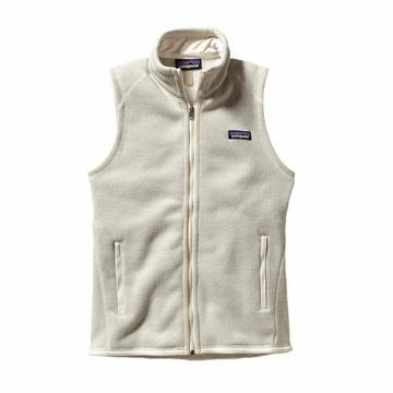 Patagonia Womens Better Sweater Fleece Vest Raw Linen Medium