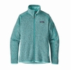 Patagonia Womens Better Sweater Jacket Bend Blue