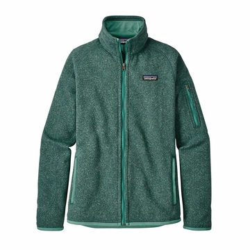Patagonia Womens Better Sweater Jacket Beryl Green w/ Beryl Green