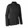 Patagonia Womens Capilene Lightweight Zip-Neck Black