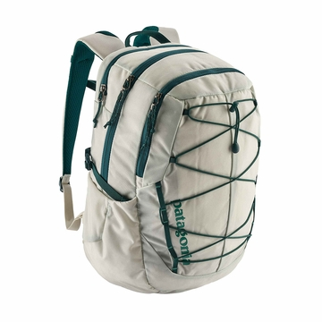 Patagonia Womens Chacabuco Pack 28L Birch White w/ Tidal Teal