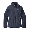 Patagonia Womens Classic Synchilla Fleece Marsupial Pullover Navy Blue