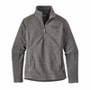 Patagonia Womens Classic Synchilla Fleece Marsupial Pullover Nickel