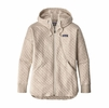 Patagonia Womens Cotton Quilt Hoodie Birch White