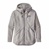 Patagonia Womens Cotton Quilt Hoodie Drifter Grey  (close out)