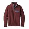 Patagonia Womens Cotton Quilt Snap-T Pullover Dark Ruby
