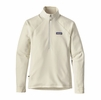 Patagonia Womens Crosstrek 1/4-Zip Fleece Birch White