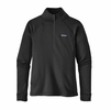 Patagonia Womens Crosstrek 1/4-Zip Fleece Black