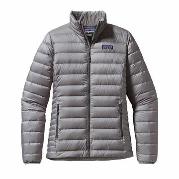 Patagonia Womens Down Sweater Jacket Feather Grey