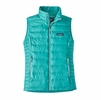 Patagonia Womens Down Sweater Vest Strait Blue