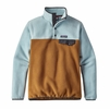 Patagonia Womens Lightweight Synchilla Snap-T Fleece Pullover Bear Brown