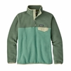 Patagonia Womens Lightweight Synchilla Snap-T Fleece Pullover Beryl Green