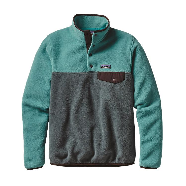Patagonia Womens Lightweight Synchilla Snap-T Fleece Pullover ...
