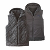 Patagonia Womens Los Gatos Hooded Fleece Vest Forge Grey