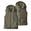 Patagonia Womens Los Gatos Hooded Fleece Vest Industrial Green