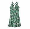 Patagonia Womens Magnolia Spring Dress Yosemite Natives: Beryl Green
