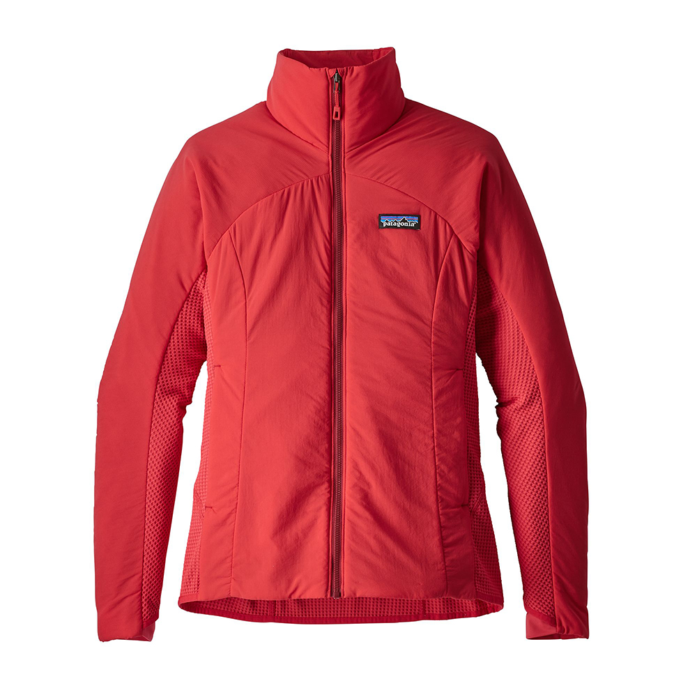 Patagonia Womens Nano Air Light Hybrid Jacket Maraschino