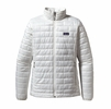 Patagonia Womens Nano Puff Jacket Birch White