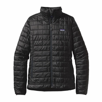 Patagonia Womens Nano Puff Jacket Black