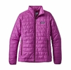 Patagonia Womens Nano Puff Jacket Ikat Purple