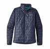 Patagonia Womens Nano Puff Jacket Navy Blue