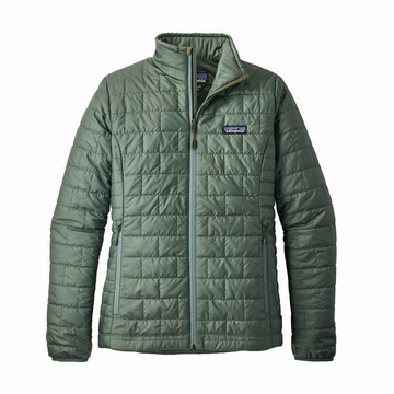 Patagonia Womens Nano Puff Jacket Pesto