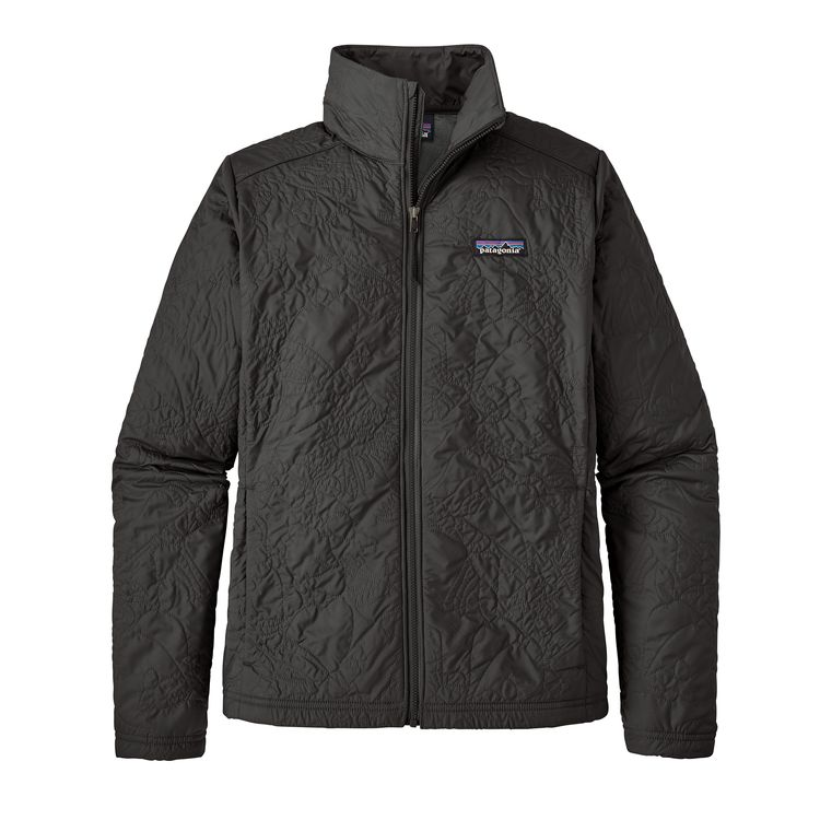 Patagonia Womens Orchid Cove Jacket Valley Quilt Black