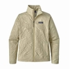 Patagonia Womens Orchid Cove Jacket Valley Quilt: Pelican