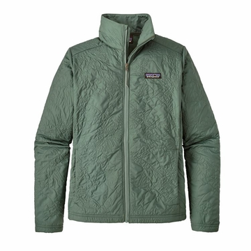 Patagonia Womens Orchid Cove Jacket Valley Quilt: Pesto