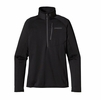 Patagonia Womens R1 Fleece Pullover Black