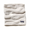 Patagonia Womens Re-Tool Fleece Neck Gaiter Raw Linen/ White X-Dye