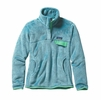 Patagonia Womens Re-Tool Snap-T Fleece Pullover Cuban Blue/ Cuban Blue X-Dye