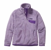 Patagonia Womens Re-Tool Snap-T Fleece Pullover Petoskey Purple/ Petoskey Purple X-Dye