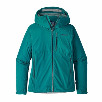 Patagonia Womens Stretch Rainshadow Jacket Elwha Blue