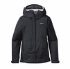 Patagonia Womens Torrentshell Jacket Black (Close Out)