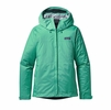 Patagonia Womens Torrentshell Jacket Galah Green