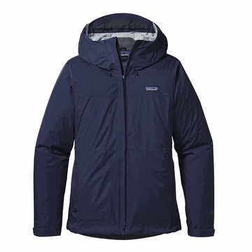 Patagonia Womens Torrentshell Jacket Navy Blue (Close Out)
