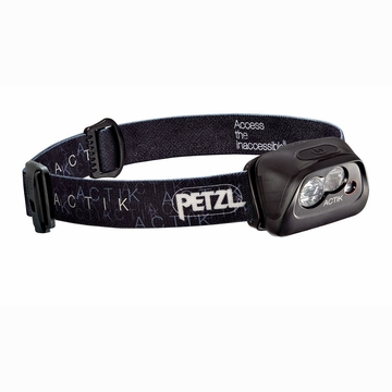 Petzl Actik Hedlamp Black