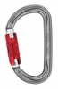 Petzl Am'D Twist-Lock Carabiner Gray