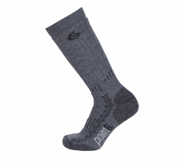 Point6 Boot Extra Heavy Mid Calf Gray