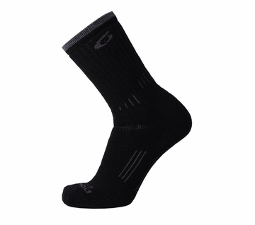 Point6 Hiking Essential Ultra Light Crew Black