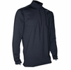Polarmax Mens Tech Fleece Mock Zip Black