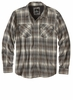 Prana Mens Asylum Flannel Gravel