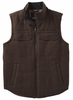 Prana Mens Colewood Wool Vest Coffee Bean Heather