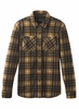 Prana Mens Everton Flannel Bronze