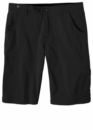 Prana Mens Stretch Zion Short Black (Close Out)