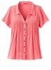 Prana Womens Katya Top Summer Peach  (close out)
