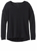 Prana Womens Parker Sweater Black  (close out)